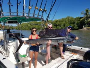 ccatching sailfish in puerto vallarta